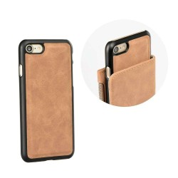 Bolsa Forcell Commodore iPhone 7|8 Plus Castanho iPhone 7|8 Plus