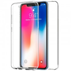 Capa Dupla 360(Frontal/Traseira) iPhone X Transparente iPhone X | iPhone XS