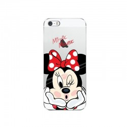 Ver maior CAPA TRASEIRA MINNIE MOUSE IPHONE X TRANSPARENTE