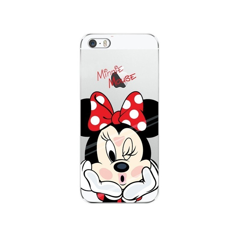 CAPA TRASEIRA MINNIE MOUSE IPHONE X TRANSPARENTE iPhone X | iPhone XS