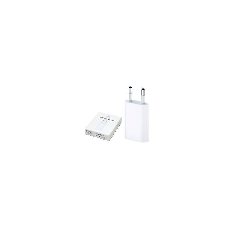 ADAPTADOR CORRENTE ORIGINAL APPLE 5W USB MD813ZM/A MODEL A1400 Carregadores|Cabos