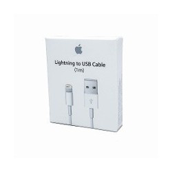 CABO ORIGINAL APPLE LIGHTNING 1m (MD818ZM/A) Carregadores|Cabos