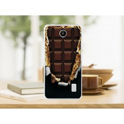 CAPA TRASEIRA CHOCOLATE HUAWEI ASCEND Y635 Ascend Y635