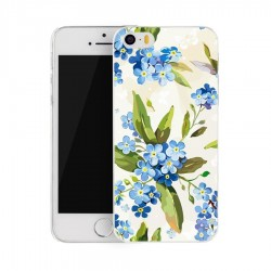 CAPA TRASEIRA FLORES IPHONE 6/6S AZUL iPhone 6|6S