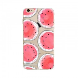 CAPA TRASEIRA FRUTA IPHONE 6/6S TRANSPARENTE iPhone 6|6S