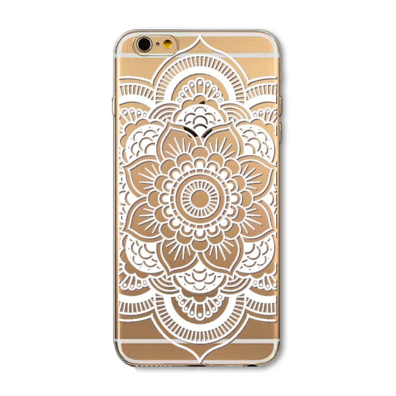 CAPA TRASEIRA TRIBAL IPHONE 6/6S TRANSPARENTE iPhone 6|6S