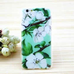 CAPA TRASEIRA FLORES IPHONE 5/5S/SE iPhone 5|5S|SE