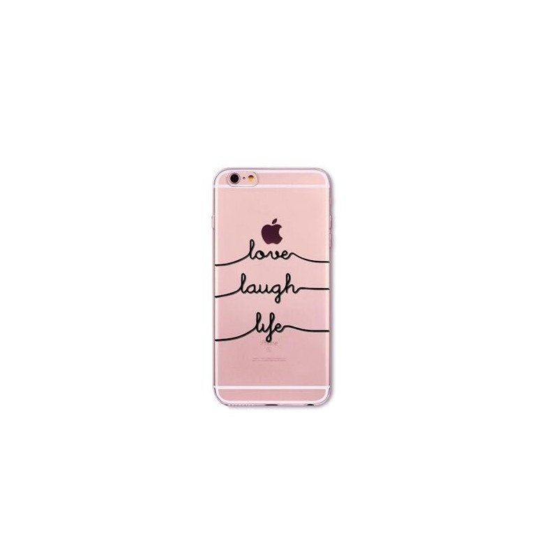 CAPA TRASEIRA LOVE IPHONE 6/6S TRANSPARENTE iPhone 6|6S