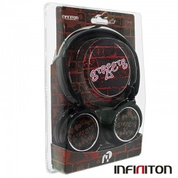Auriculares Infiniton Universal Stereo Streets Vermelho Auriculares