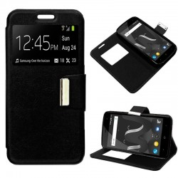 Capa Flip Cover Wiko Jerry 2 Liso Preto Jerry 2