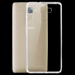 CAPA TRASEIRA ULTRA SLIM HUAWEI HONOR 7 TRANSPARENTE