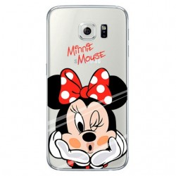 CAPA TRASEIRA MINNIE MOUSE SAMSUNG GALAXY GRAND PRIME TRANSPARENTE