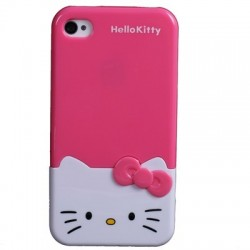 CAPA 3D IPHONE 4|4S HELLO KITTY iPhone 4|4S