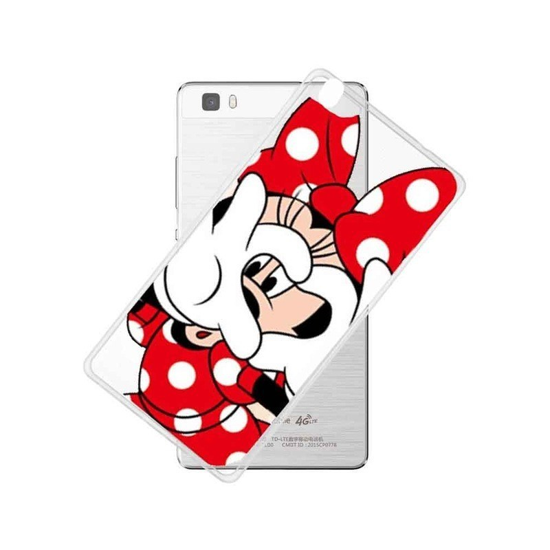 CAPA TRASEIRA MINNIE MOUSE HUAWEI ASCEND P8 Ascend P8