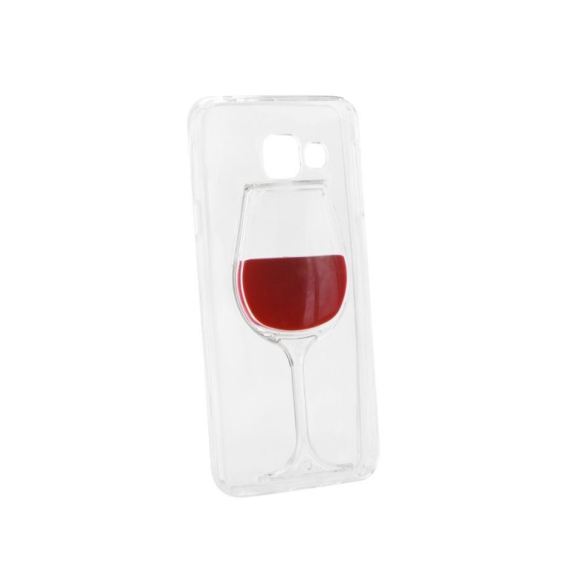CAPA 3D SAMSUNG GALAXY A3 2016 WINE GLASS Galaxy A3 2016