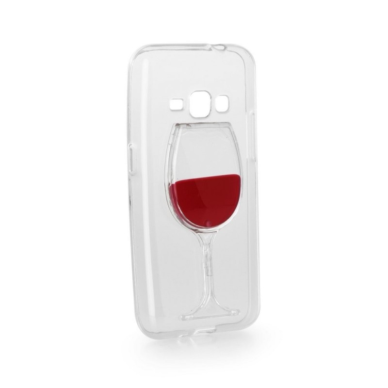 CAPA 3D SAMSUNG GALAXY J1 2016 WINE GLASS GALAXY J1 (2016) J120