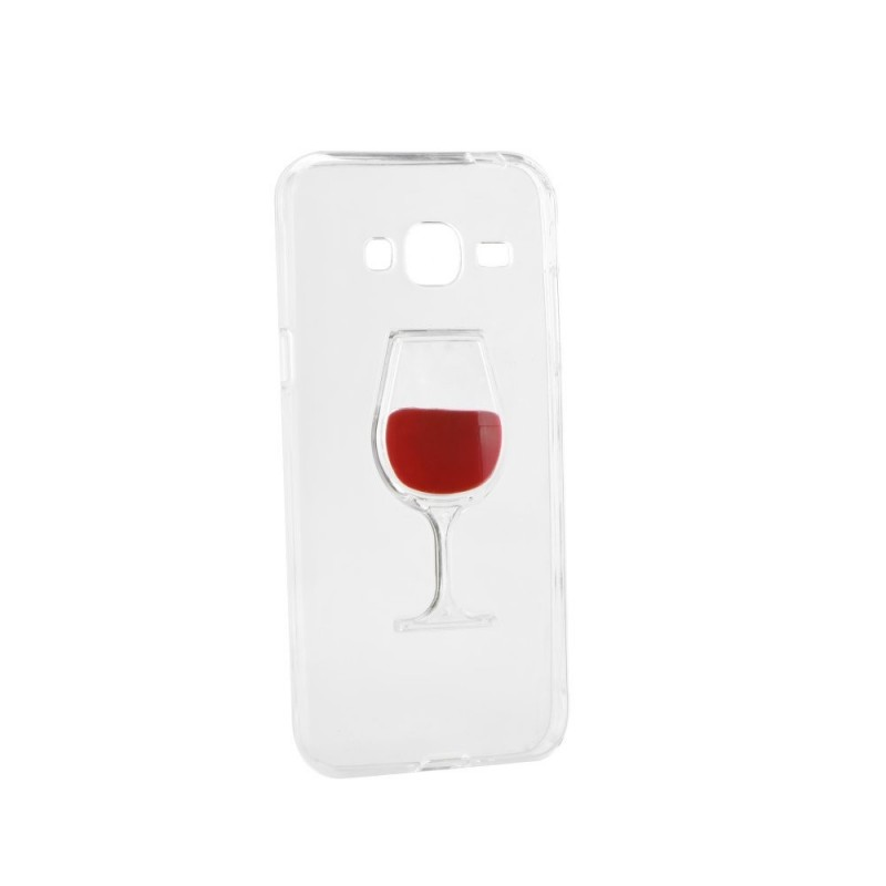 CAPA 3D SAMSUNG GALAXY J3 2016 WINE GLASS GALAXY J3 (2016) J320