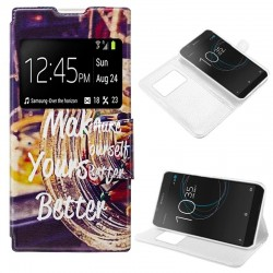 Capa Flip Cover Sony Xperia L1 Design Better