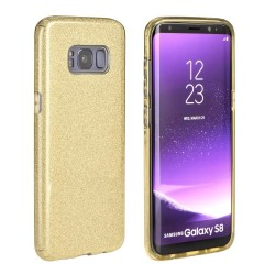 CAPA TRASEIRA BRILHANTE SAMSUNG GALAXY S8 PLUS DOURADA Galaxy S8 Plus