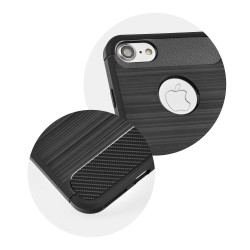 CAPA TRASEIRA CARBON IPHONE 7 PLUS PRETA iPhone 7|8 Plus