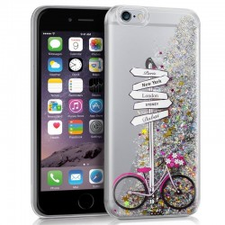 Capa iPhone 6 Plus / 6s Plus Glitter Travel iPhone 6|6s Plus