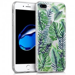 Capa iPhone 7 Plus / iPhone 8 Plus Clear Tropical iPhone 7|8 Plus