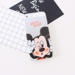 CAPA TRASEIRA MICKEY MOUSE IPHONE 6/6S TRANSPARENTE