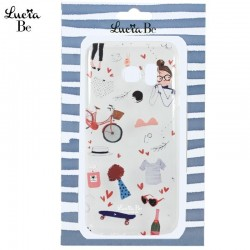 Capa Samsung G935 Galaxy S7 Edge Oficial Lucia Be Transparente Galaxy S7 Edge