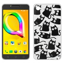 CAPA TRASEIRA COOL GATOS ALCATEL A5 LED