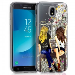 Capa Samsung J330 Galaxy J3 (2017) Glitter Girls Galaxy J3 2017