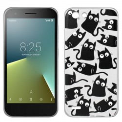 CAPA TRASEIRA COOL GATOS VODAFONE SMART E8