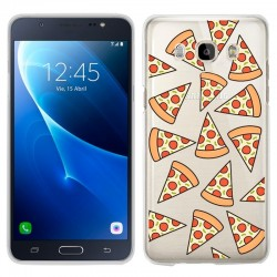 Capa Samsung J710 Galaxy J7 (2016) Clear Pizza Galaxy J7 2016