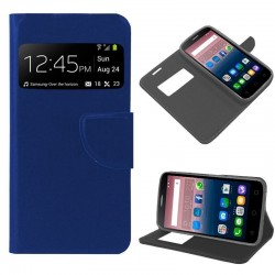 Capa Flip Cover Alcatel Pop Star Liso Azul POP STAR 3G