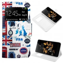 Capa Flip Cover LG K8 Design London K8
