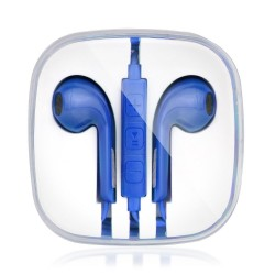 AURICULAR ESTILO IPHONE 3.5mm AZUL