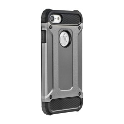 CAPA TRASEIRA ARMOR IPHONE 7 PLUS 5.5' CINZA iPhone 7|8 Plus