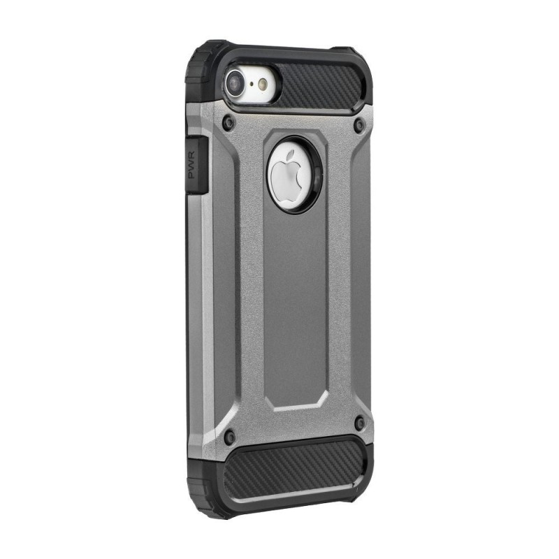 CAPA TRASEIRA ARMOR IPHONE 7/8 CINZA iPhone 7|8|SE 2020