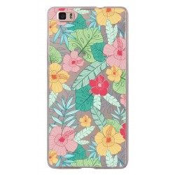 CAPA TRASEIRA FLORES IPHONE 6/6S PLUS TRANSPARENTE iPhone 6|6s Plus