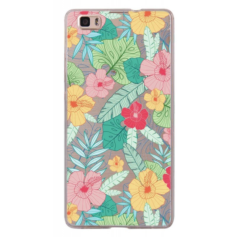 CAPA TRASEIRA FLORES SAMSUNG GALAXY S8 PLUS TRANSPARENTE Galaxy S8 Plus