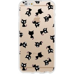 CAPA TRASEIRA GATOS IPHONE 7/8 TRANSPARENTE iPhone 7|8|SE 2020
