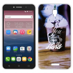 Capa Alcatel Pixi 4 (6) 4G Design Coffee Pixi 4 (6) | A2 XL