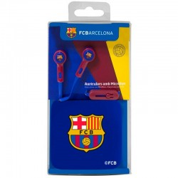 Auriculares 3,5 mm Stereo Oficial Futebol F.C. Barcelona Auriculares
