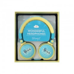 Auriculares Jack 3,5 mm Oficial Mr. Wonderful Stereo Universal Azul Auriculares