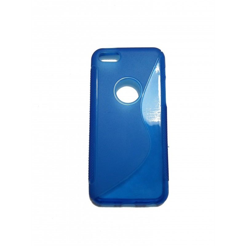 CAPA TRASEIRA IPHONE 5|5S AZUL iPhone 5|5S|SE