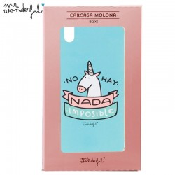 Capa BQ Aquaris X5 Oficial Mr Wonderful Unicornio Aquaris X5