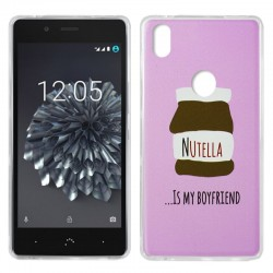 Capa BQ Aquaris X5 Plus Design Chocolate Aquaris X5 Plus