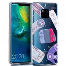 Capa Huawei Mate 20 Pro Clear Consolas Mate 20 Pro