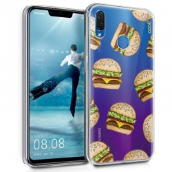 Capa Huawei P Smart Plus Clear Burger P Smart Plus