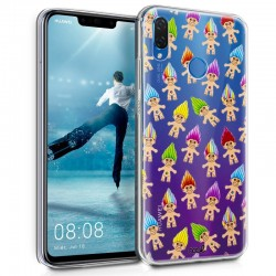 Capa Huawei P Smart Plus Clear Trolls P Smart Plus