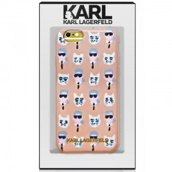 Capa iPhone 6 / 6s Oficial Karl Lagerfeld Gatinhos iPhone 6|6S